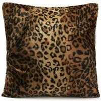 Leopard Tiger Zebra Print Pillow Case Sofa Cushion Cover Style 01