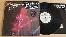 SHAUN CASSIDY - LIVE - THAT'S ROCK 'N' ROLL - LP 33 GIRI+INSERT - USA PRESS