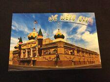 WE WERE EAR!!!    Mitchell, South Dakota 2009 CORN PALACE Postcard