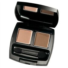Avon True Color Eyeshadow Duo For Long lasting, Smooth Eyeshadow- Warm Cashmere