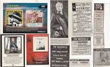 LONG JOHN BALDRY : CUTTINGS COLLECTION -adverts-