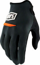 100% Ridecamp Men's Full Finger Glove: Charcoal MD