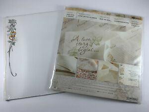 Creative Memories Lot - Once Upon A Wedding Kit & Wedding Border Pages RCM-12WB
