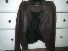 Woman's   Faux Leather Jacket  12