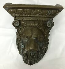 Pentair 5823504 Wallspring Sconce Sheer Lion Brass Decorative Accent NEW