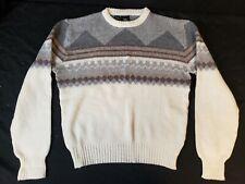 Kennington Mens Vintage Sweater Medium Acrylic Wool Polyester Blend