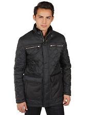 Andrew Marc New York MM4AC952 Men's Black Lined Filled Fulton Jacket Coat M