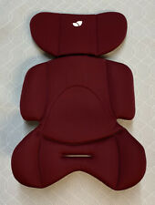 Joie Stages Car Seat Newborn Insert Including Wedge - Burgundy/Red - VGC