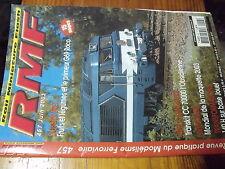 µ? revue RMF n°457 Tuberie de Saint Saulve CC 70000 Dossier FRET Primeur