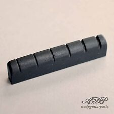 SILLET EPIPHONE graph Tech BLACK TUSQ XL PT-6060-00 Slotted Nut OEM (VRAC)