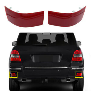 Rear L+R Reflector Bumper For Mercedes Benz X204 GLK200 GLK300 GLK350 2010-2012