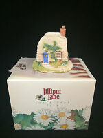 "Lilliput Lane Petticoat Cottage 2"" Tall with COA NIB!"