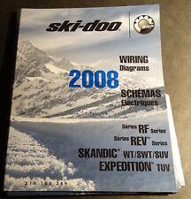 2008 SKI-DOO SNOWMOBILE WIRING DIAGRAMS RF, REV, SKANDIC, EXPEDITION MODELS