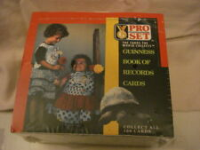 Pro-set 1992 Guinness Book of Records Collectible Cards Complete NEW Box