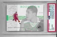 2013 SP Authentic F/X Giannis Antetokounmpo ROOKIE RC #91 PSA 10 GEM MINT