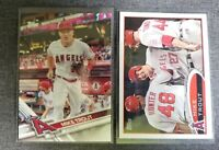 Mike Trout 2017 Topps Series 1 Card No. 20 +Rediscover Card(2) Lot Angels