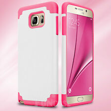 Shockproof Rugged Hybrid Rubber Hard Cover Case for Samsung Galaxy Note 3 4 5