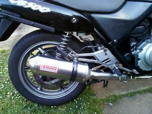 HONDA CB500 - S EXHAUST HARRIS WORKS COLLECTION SLIP ON ROAD LEGAL 1993/05