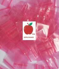 Pink 1000 Apple Brand Baggies 1034 2mil Ziplock 1000 Plastic 1x34 Bags Mini