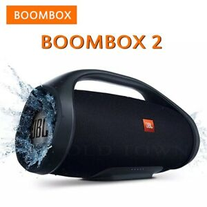 JBL Boombox 2 Portable Wireless Bluetooth Speaker Boom Subwoofer IPX7 Waterproof