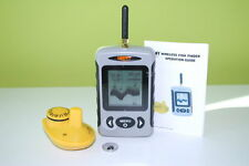 Wireless Portable Fish Finder Sonar River Lake Sea Range upgrade 120 Metre