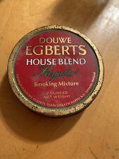 Vintage Douwe Egberts House Blend Tobacco Tin Only K7