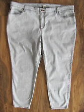 Eileen Fisher Woman Skinny Jeans-Stretch-Organic-Mineral Gray-Size 24W-NWT $248