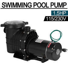115/230V 1.5Hp Swimming Spa Pool Pump Motor Strainer above Inground