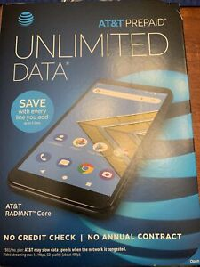 AT&T Prepaid cell phone Radiant Core