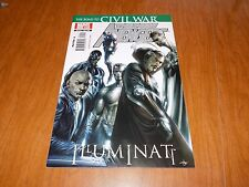 New Avengers #1 ILLUMINATI The Road To CIVIL WAR - A MUST HAVE FOR ANY CW READER