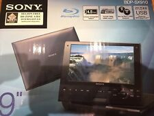 Sony BDP-SX910 Blu-ray portátil ABC y DVD reproductor de múltiples regiones Gratis 1-8 Hdmi