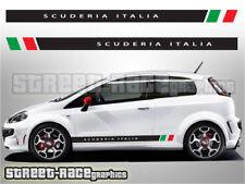 Fiat Punto Côté Racing Stripes 009 Scuderia Italia Autocollant Vinyle Graphique Autocollants
