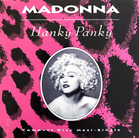 Madonna 2xMaxi CD Hanky Panky - Limited Edition - USA (EX/M)