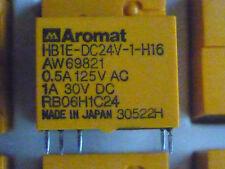 HB1E-DC24V-1-H16 Aromat relè relè Single Polo 24 Volt Originale AW69821 oro