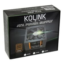 Kolink KL-500 500W 80 Plus Bronze Rated PSU ATX Silent 12cm Fan PC Power Supply