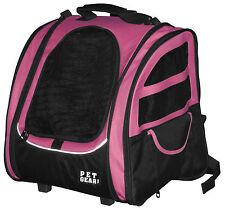 Pet Gear I-GO2 Traveler 5-in-1 Pet Cat Dog Carrier Backpack Car Seat Tote Roller