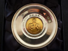 PRINCE CHARLES AND LADY DIANA SPENCER HALLMARKED SILVER TRAY