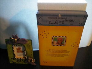 MARY ROSE YOUNG. CERAMIC PHOTO FRAME 30TH BIRTHDAY. NEW & BOXED.