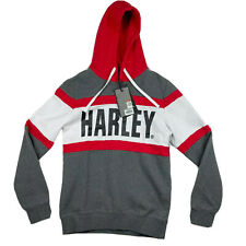 Harley Davidson Sweater Mens Size Small Slim Fit Hoodie New With Tags
