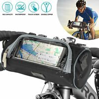 New Black Multifunction Cycling Bike Bicycle Waist Pack Shoulder Handlebar Bag