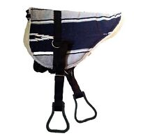 Bareback Pad Navajo navy/grau Reitkissen Reitpad Barebackpad