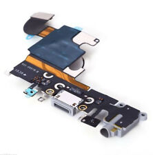 ORIGINAL iPhone 6S Black Dock Connector Port Headphone Jack & Mic Flex Genuine