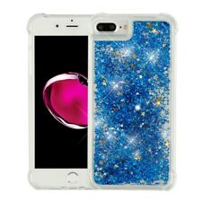 Apple iPhone 7 / 7 Plus Bling Hybrid Liquid Glitter Rubber Protective Case Cover