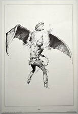 SPACE HEROES PRINT 1 w UNPUBLISHED ARTWORK by Al Williamson & Frank Frazetta