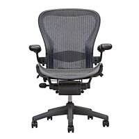 1 Herman Miller Fully Loaded Size C  Aeron Chairs  - Open Box -