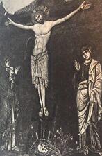 Christ On The Cross Max Parrish Prints London 1940's
