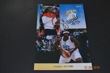 SYLVIA FOWLES SIGNED CHICAGO SKY PHOTO