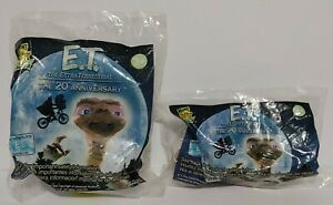 Vintage E.T. Extraterrestrial Puzzle/Flower Pot Wind Up Wendy's Kids Happy Meal