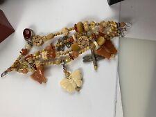 Kim Yubeta Gorgeous  Masterpiece Amber Carnelian Bracelet One Of A Kind