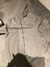 mens grey hoodie small